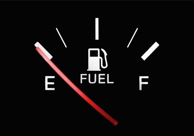 燃料切れそう