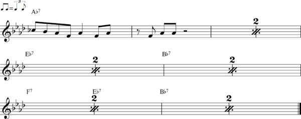管楽器のシャッフルフレーズ10