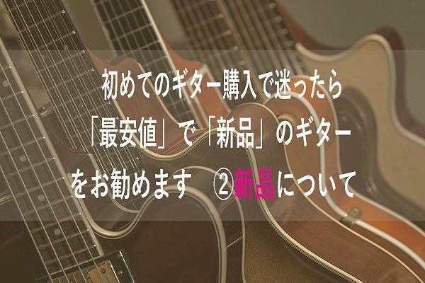 はじめてのギター購入2